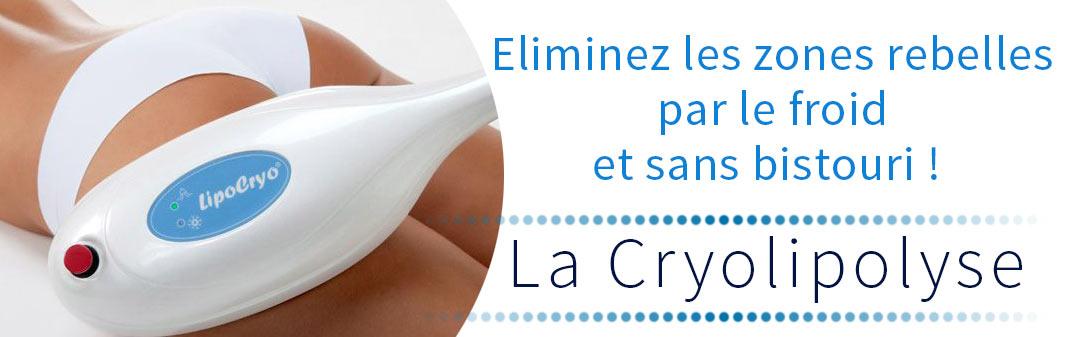 la Cryolypolise , le soin minceur par le froid